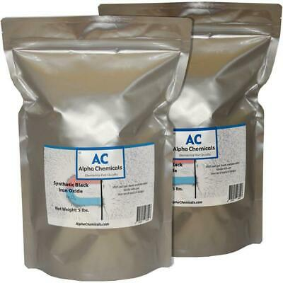 10 lb Synthetic Black Iron Oxide  - Fe3O4 - <1 micron particle size