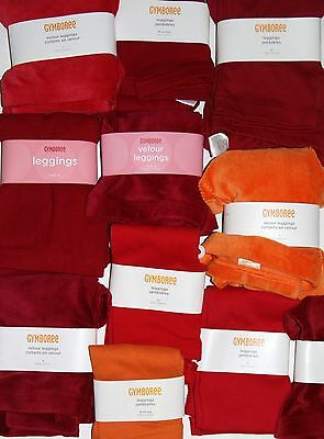 NWT Gymboree Solid RED or ORANGE Leggings PICK ONE