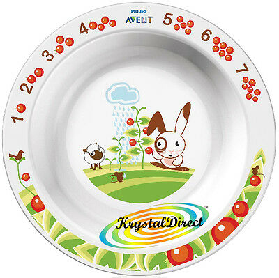 Philips Avent SCF704/00 Toddler Big Large Size Bowl Plate 12m+ BPA Free