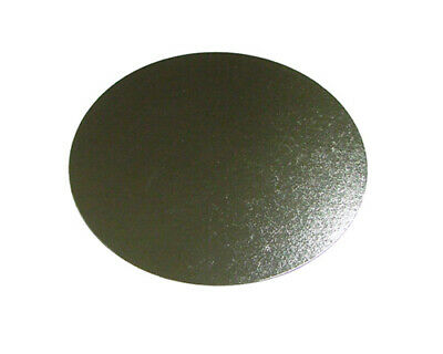 """50 x Round Silver Cake Boards 8"""" FREE SHIPPING"""