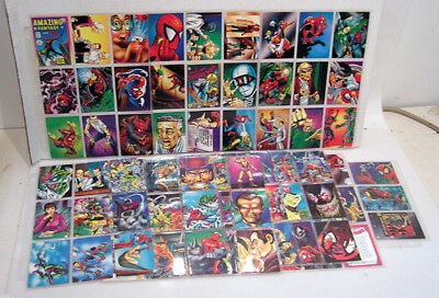 1992 Spider-Man 30th Anniv Trading Card Set of 90+3