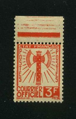 "France Service :  N°10 "" Francisque 3F ""  Neuf  Xx  Ttb"