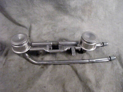 Dual Double Gas Burner Tube Head NEW See Pictures