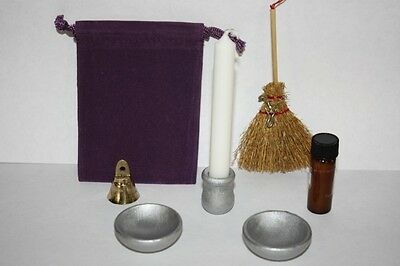 Travel Altar Set -wicca, witch, pagan