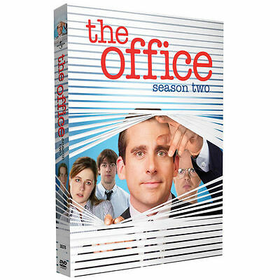 THE OFFICE - THE COMPLETE SECOND SEASON 2 TWO 4-Disc DVD Set Steve Carrell