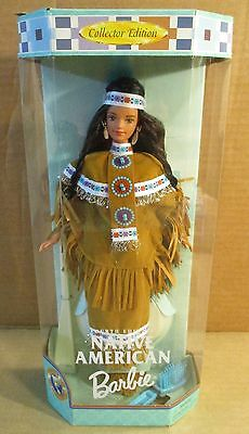 Native American Indian Barbie Fourth Edition Doll of The World Collection NEW