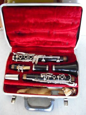 Antique Selmer Bundy Resonite Clarinet with Case LOOK