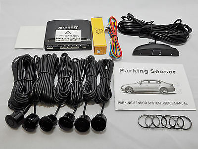 CISBO 6 Rear and Front Parking Reversing Sensors LED Display 2 Front 4 Rear