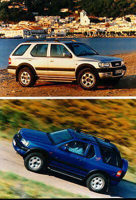 2000 Opel Frontera Honda SUV Press Photo Print