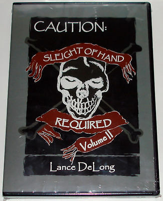Lance DeLong's Sleight Of Hand Required #2 :: NEW DVD