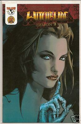 Witchblade Demon #1 Df Cover C-1000-Coa-Nm/m-Unopened