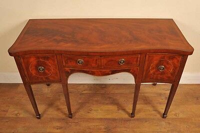 Edwardian Mahogany Sideboard Dresser Buffet Server