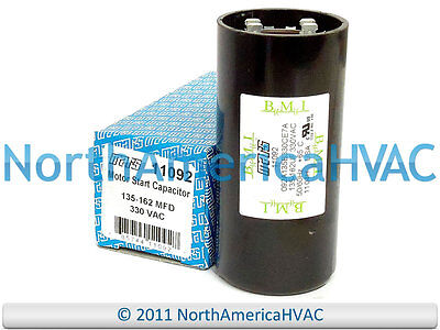 Trane American Standard CPT0091 Replacement Start Capacitor 135-162 MFD CPT00091