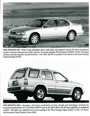 1999 Infiniti I30 Factory Press Print and Sales Sheet