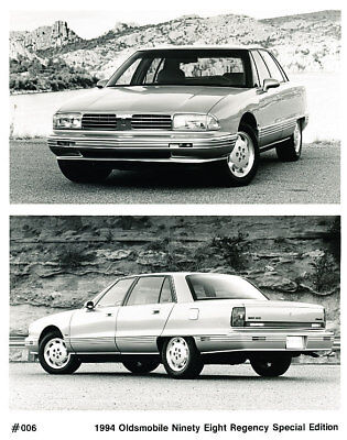 1994 Oldsmobile Ninety Eight Factory Press Print Photo