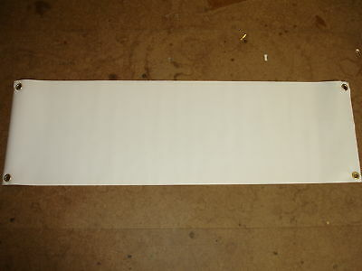 "NEW Mini Blank Banner 1M x 300mm(12"") indoor/outdoor"