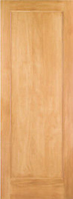 1 Panel Flat Mission / Shaker Stain Grade Pine Solid Core Interior Wood Doors