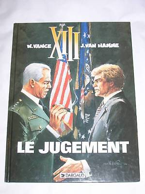 Bd Xiii N° 12 / Le Jugement / Eo Sept 1997 / Tbe+++++++