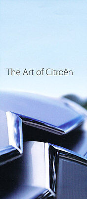 2007 Citroen history art Brochure DS 2CV Traction Avant