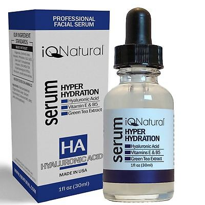 Pure 100% HYALURONIC ACID Skin Firming Collagen Serum Wholesale Bulk Spa Size