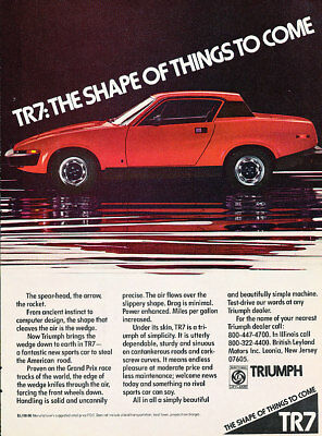 1975 Triumph TR7 coupe Classic Advertisement Ad P68