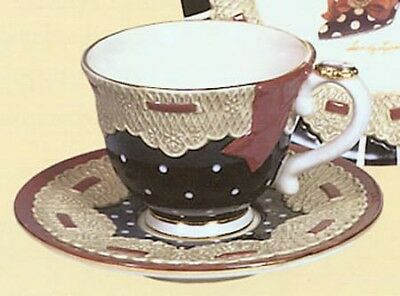 Willitts Sandy's Closet Claudette Cup and Saucer