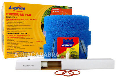 Laguna Pressure Flo 2500 Uvc 11W Service Kit Pt1496 Fish Pond Filter Uv Koi