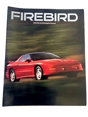 1993 Pontiac Firebird 14-page Car Sales Brochure Catalog - Trans Am Formula