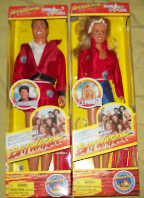 Vintage NEW MISB Sealed BAYWATCH CJ Parker Poseable Lifeguard Doll Toy Island