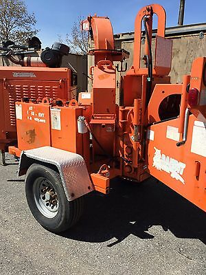 Used Bandit 150XP Wood Chipper Tree Shredder Commercial Diesel Engine Grinder