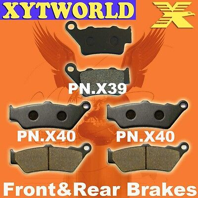 Front Rear Brake Pads for BMW F800 F 800 GS 2008-2010