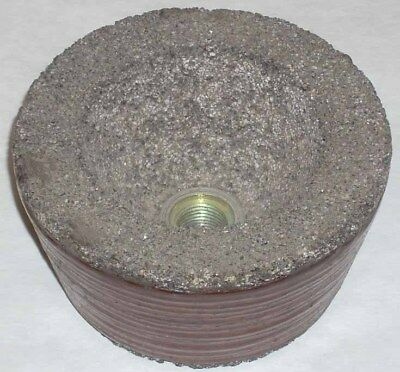 10 Abrasive 4 x 2 x 5/8-18 Flanged Cup Grinding Wheels