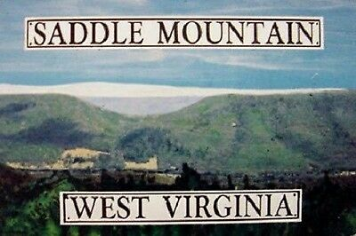 Saddle Mountain WV Medium Postcard Magnet