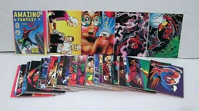 1992 SPIDER-MAN 30TH ANNIVERSARY Trading Card set of 90 cards (TC-1749)
