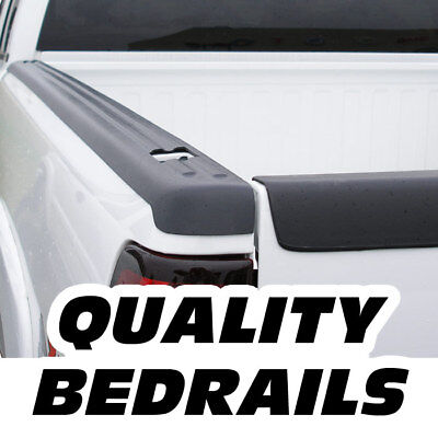 Bedrail Side Bed Rail Cap Plastic w Holes Ribbed 78in