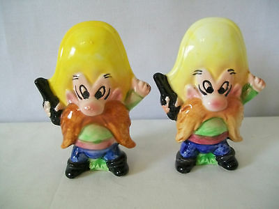 Warner Bros. Yosemite Sam With Guns Salt & Pepper #d665