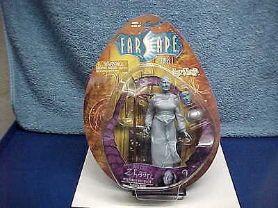 RARE FARSCAPE ZHAAN FEMALE ALIEN SCI-FI TV LIMITED EDITION FIGURE w/TRADING CARD