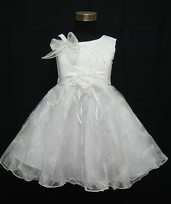 New White Flower Girl/Pageant/Party Dress 9-12 Months