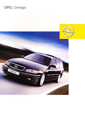 2003 Opel Vectra Deluxe German Prospekt Sales Brochure