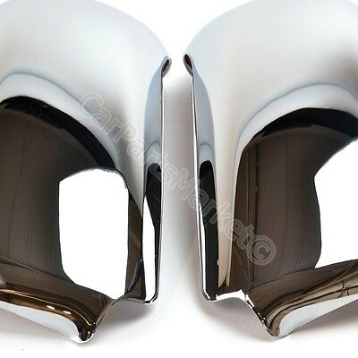 Skoda Octavia 1999-2004 Chrome Cup Wing Mirror Covers