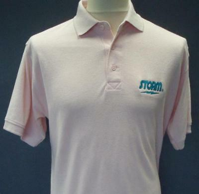 Storm Polo Shirt - Pink  Tenpin Bowling shirt - new
