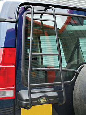 Land Rover Discovery 2 Rear Door Ladder