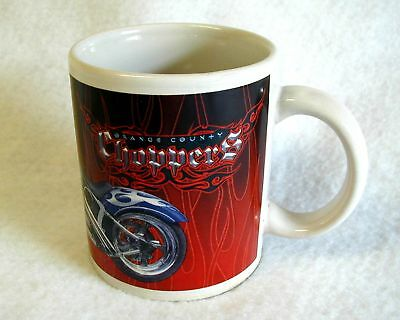 NEW Collectible Mug ORANGE COUNTY CHOPPERS 2004
