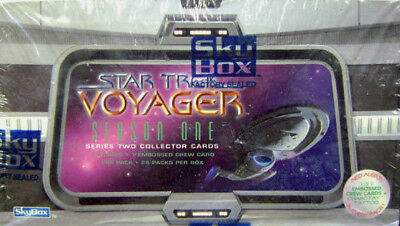Star Trek Voyager Season 1 Series 2 Trading Cards BOX 1996