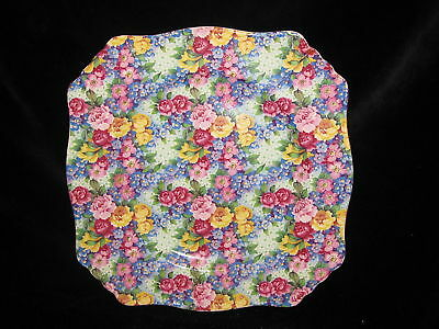 ROYAL WINTON - JULIA #109 - SQAURE LUNCH PLATE gd
