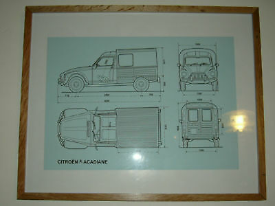 Super Citroen Acadiane A3 technical drawing