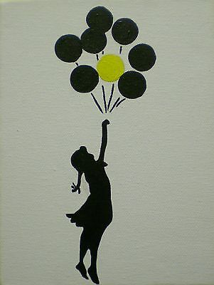 Quality Banksy Art Photo Print (Balloons)