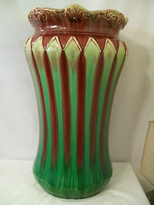 Green And Maroon Heavy Umbrella Stand #d676