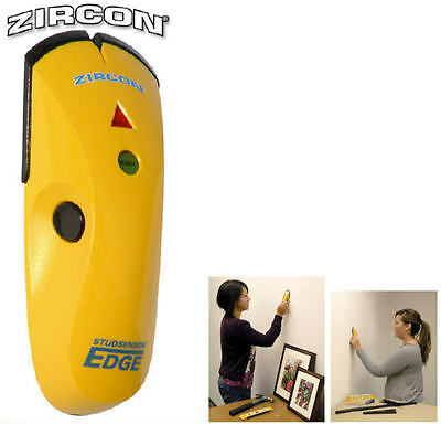 NEW Zircon EDGE Wood/Metal Wall Stud/Joist Finder/Detector/Sensor ZIRZ63739