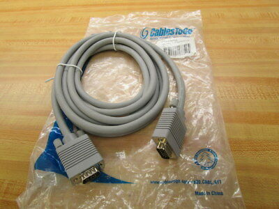 Cables To Go 16752 10Ft SXGA Monitor Cable